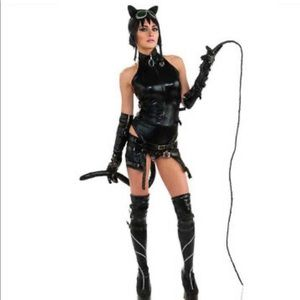 Ame-com heroine series cat woman costume